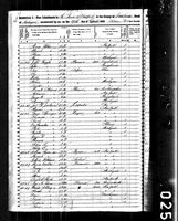 George Springer - 1850 United States Federal Census
