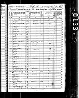 Betsey Harvey - 1850 United States Federal Census