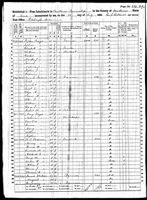 William H Parsons - 1860 United States Federal Census