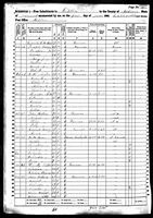 Olive Hebert - 1860 United States Federal Census