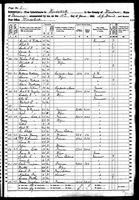 Zeriah Harvey - 1860 United States Federal Census
