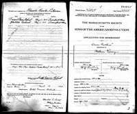 Nathan Harvey - U.S., Sons of the American Revolution Membership Applications, 1889-1970
